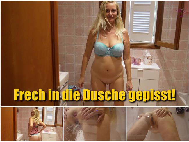 Video Thumbnail Frech in die Dusche gepisst!