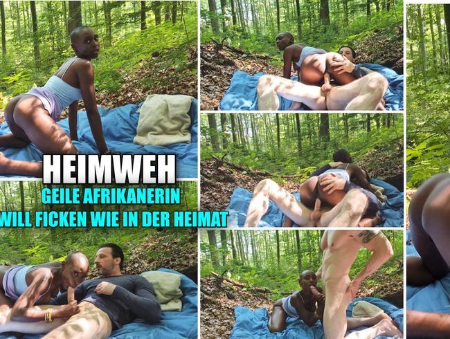 Video Thumbnail Heimweh. Geile Afrikanerin will Ficken wie inder Heimat . Im Freien
