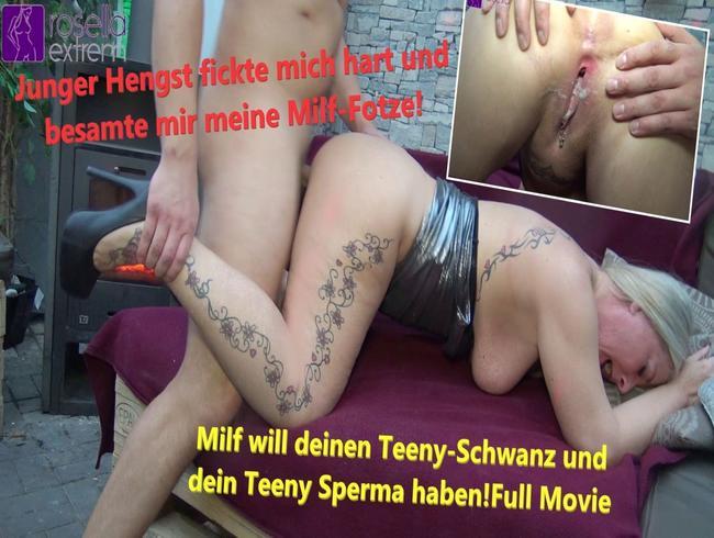 Video Thumbnail Milf will deinen Teeny-Schwanz und dein Teeny Sperma haben! Full Movie