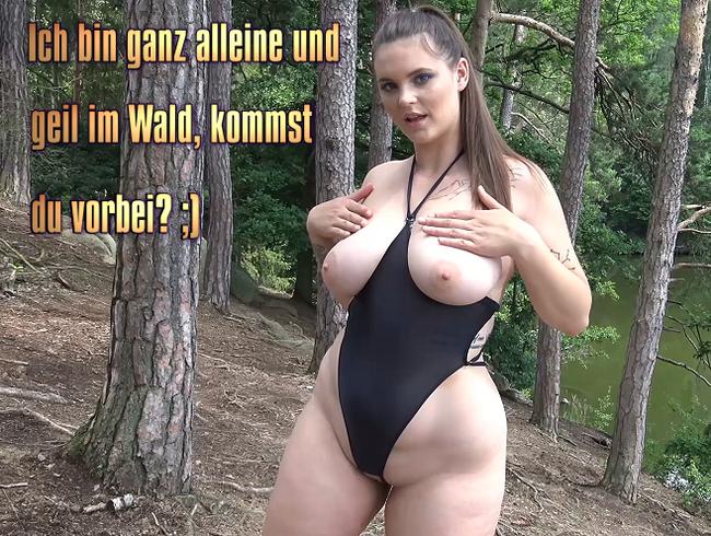 Video Thumbnail Ich bin ganz alleine und geil im Wald, kommst du vorbei? ;)