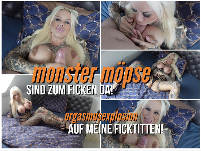 Video Thumbnail MONSTER MÖPSE SIND ZUM FICKEN DA ! ORGASMUSEXPLOSION auf meine FICKTITTEN !