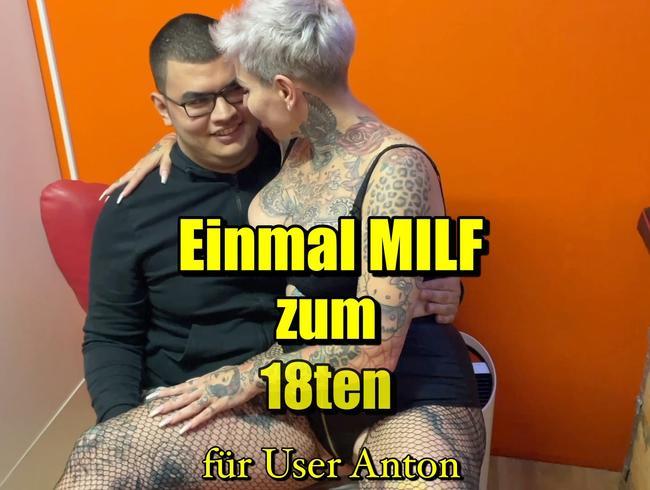 Video Thumbnail Einmal Milf zum 18ten für User Anton