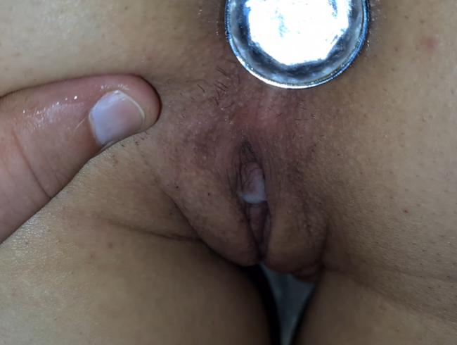 Video Thumbnail Sex mit Analplug und Creampie