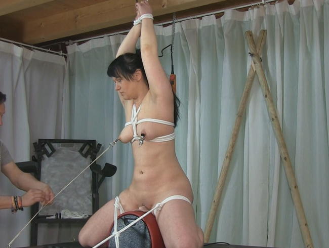 Video Thumbnail 1 Stunde BDSM Sybian Session  Part 1