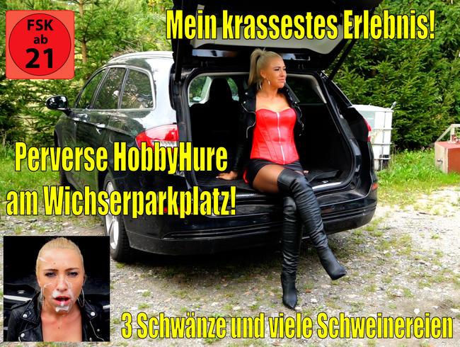 Video Thumbnail Mein krassestes Fickorgien Erlebnis am Wichserparkplatz! 3 Schwänze + perverse Schweinereien...