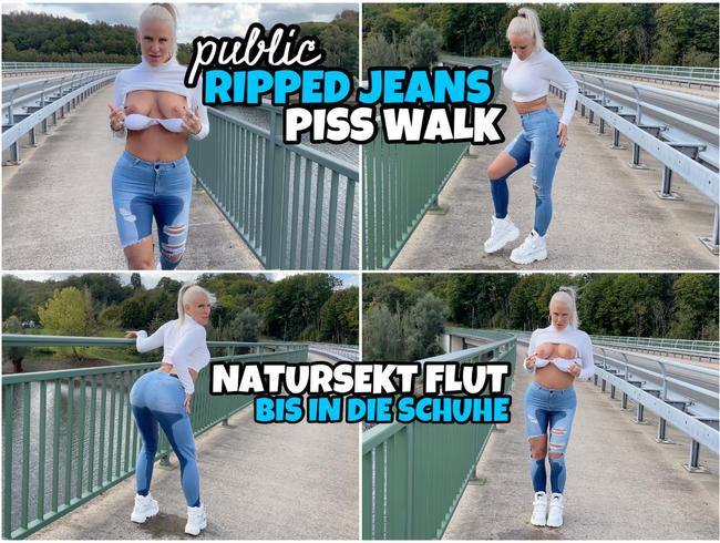 Video Thumbnail Public JEANS PISS Walk | NS Flut bis in die Schuhe