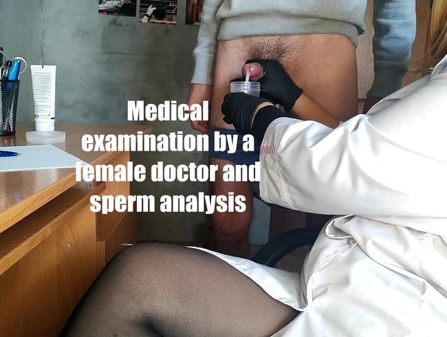 Video Thumbnail Ärztliche Untersuchung durch eine Ärztin und Spermaanalyse