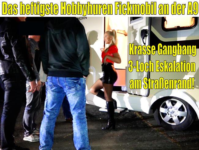 Video Thumbnail Das heftigste Hobbyhuren Fickmobil an der A9 | Krasse Gangbang 3LOCH Eskalation am Straßenrand!