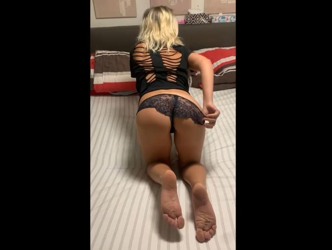 Video Thumbnail Striptease auf dem Bett Part II