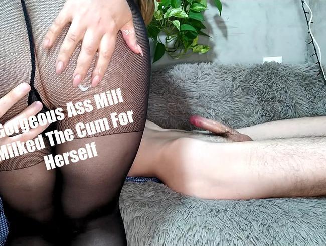 Video Thumbnail Herrlich Arsch Milf das Sperma für sich selbst gemolken