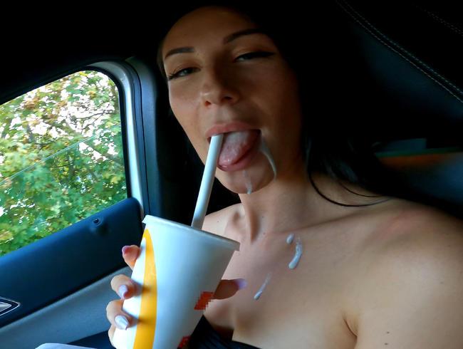 Video Thumbnail Heimlicher Blowjob im Drive In