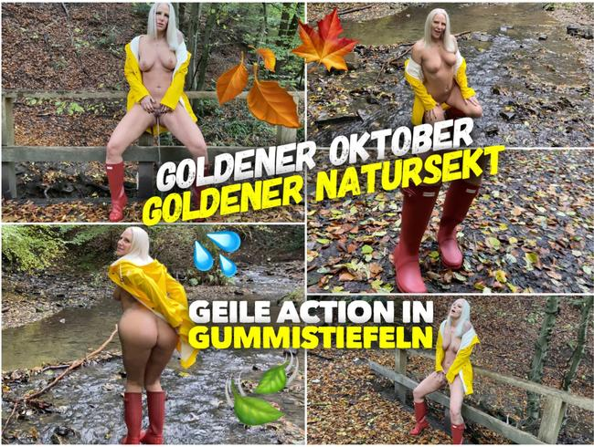 Video Thumbnail PISS Action in Gummistiefeln | Goldener Oktober, goldener Natursekt
